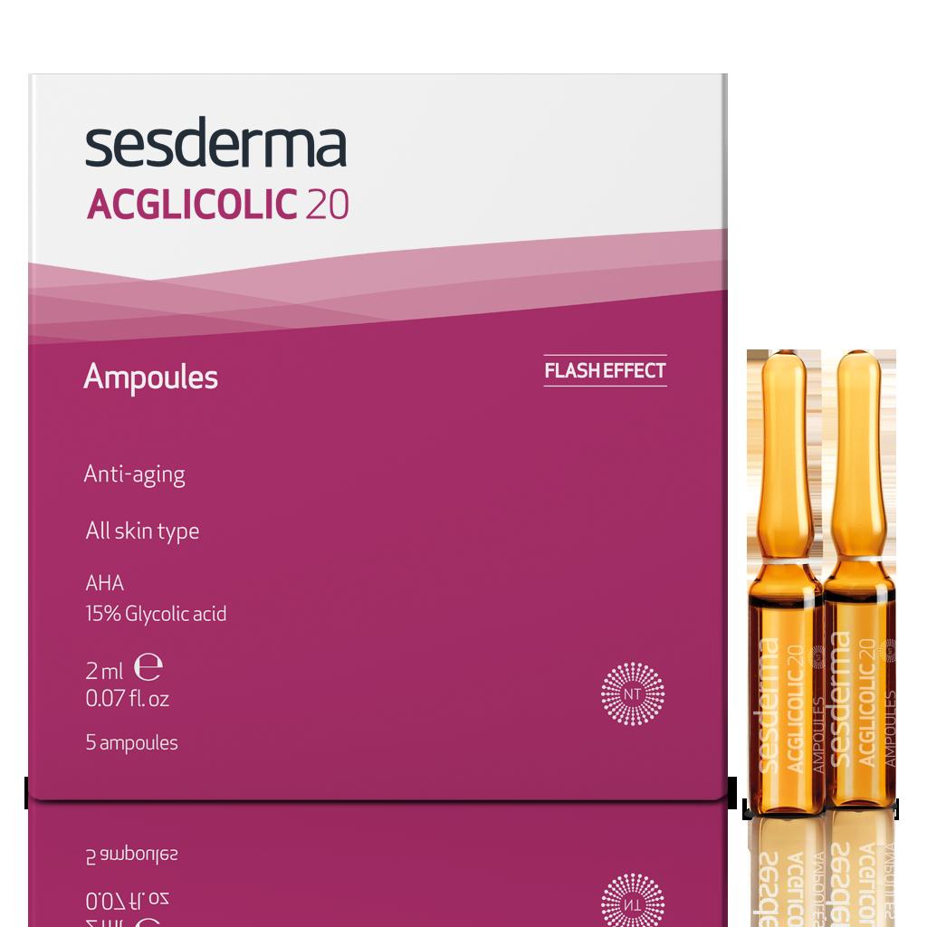 ACGLICOLIC 20 AMPOULES