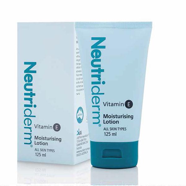 Neutriderm Moisturising Lotion w/Vitamin E – 125 ml