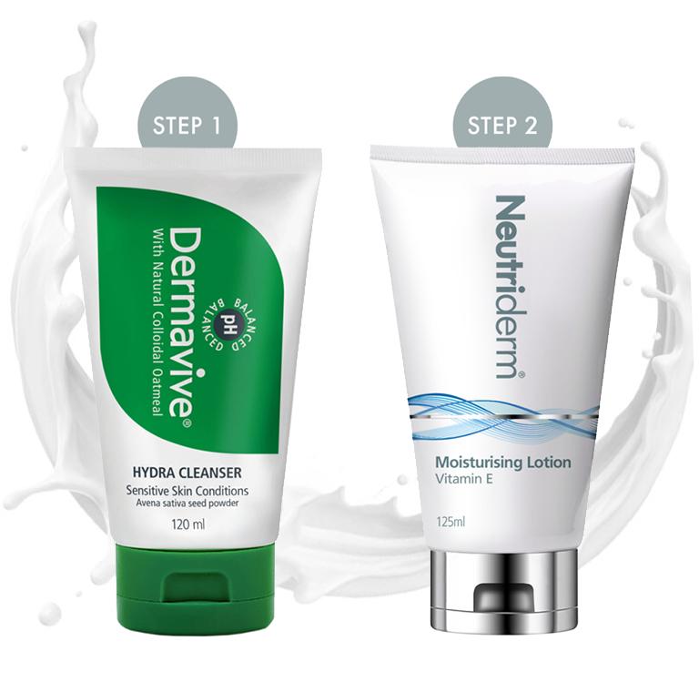 Neutriderm Pre-Makeup Skincare Combo